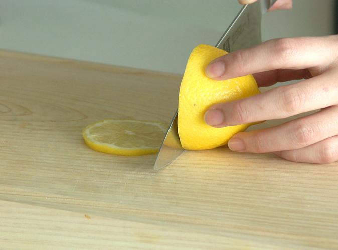 レモンの飾り切り2