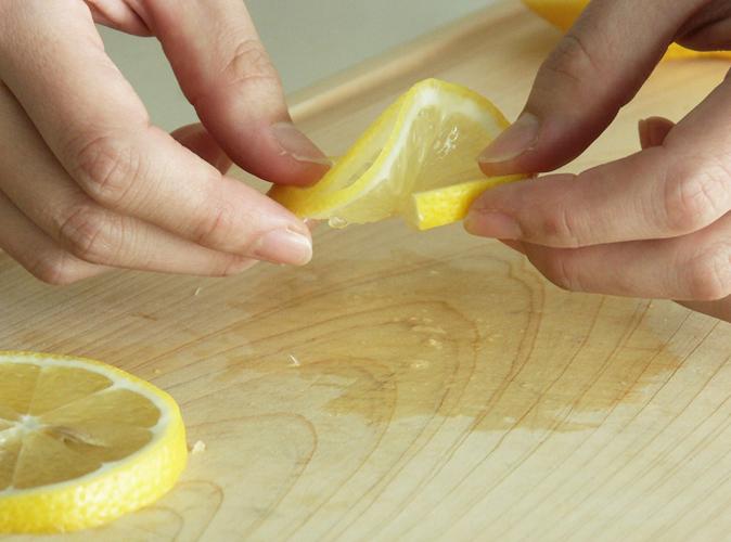 レモンの飾り切り5