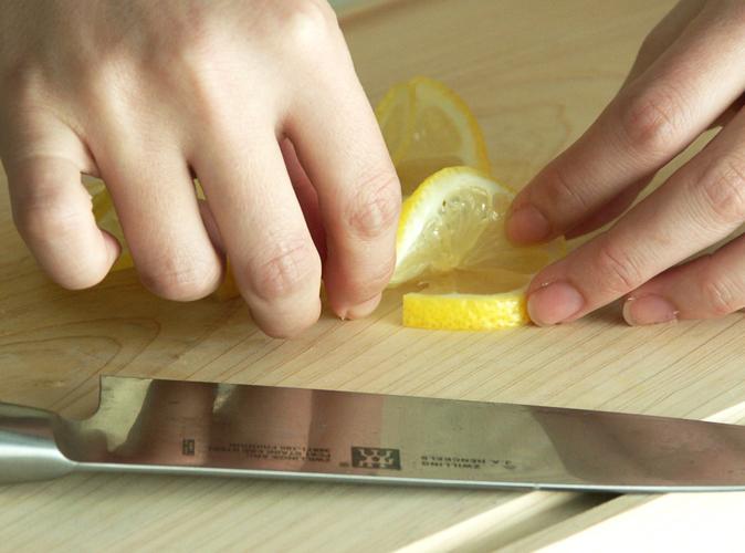 レモンの飾り切り6
