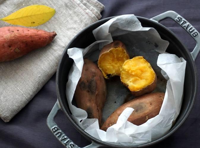 ストウブ焼き芋