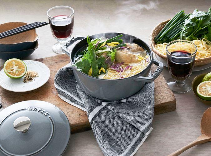 甘酒ヨーグルト鶏ロカボ鍋