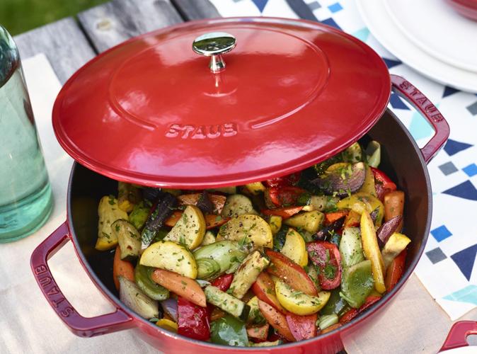 カラフル野菜のソテー