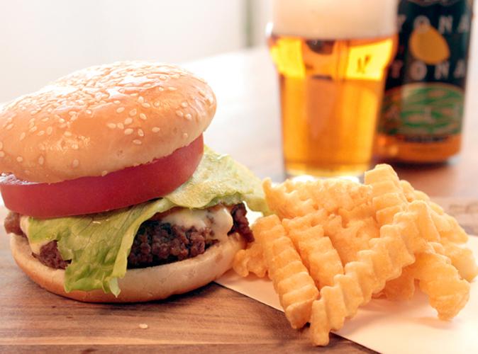 ストウブ×クラフトビール「ハンバーガー」
